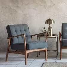grey linen chair buy gallery direct humber grey linen armchair online cfs uk