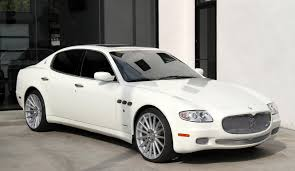 white maserati sedan 2008 maserati quattroporte executive gt automatic stock 5954 for