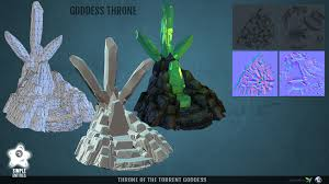 throne room throne of the torrent goddess simple entities