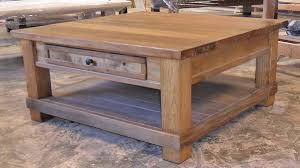 Rustic Coffee And End Tables Captivating Rustic Square Coffee Table Coffee Table Rustic Coffee