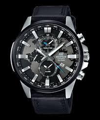 Jam Tangan Casio Chrono jual casio edifice chrono jam tangan pria efr 303l 1a tali kulit