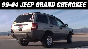 1999 2004 jeep grand cherokee american thunder cat back exhaust