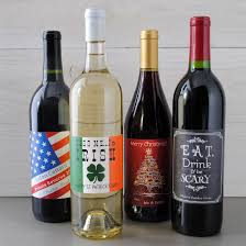 wine bottle halloween make your own holiday wine labels because it u0027s ridiculously easy