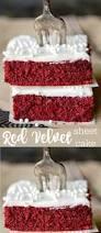 easy red velvet sheet cake recipe best cake recipes