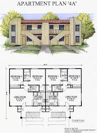 three plex floor plans architectural designs unit apartment building plans loft modern