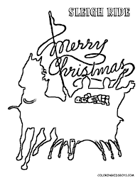 cool coloring pages print christmas free kids christmas