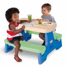 little kids picnic table outdoor kids picnic tables for children little tikes children picnic