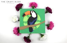 decoupage blog tutorial free toucan decoupage tutorial with the craft blog dovecraft