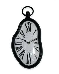 Fashionable Home Decor Wall Clock Salvador Dali Style Surrealism Melting Wall Clock