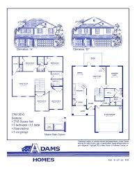 adams homes floor plans featured home the adams homes 2 705 adams homes