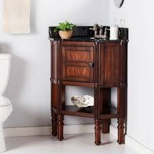 Corner Bathroom Vanities And Cabinets by Brown Finish Bathroom Vanities U0026 Vanity Cabinets Shop The Best