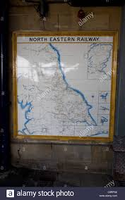 Yorkshire England Map by Old Map Of North Eastern Railway Routes Scarborough Yorkshire