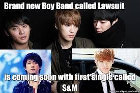 Boy Band Meme - brand new boy band allkpop meme center