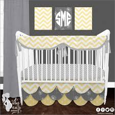 gray and yellow crib bedding sets home design ideas