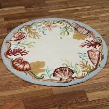 Beach Themed Area Rugs Round Beach Area Rugs Best House Design How To Buy A Size