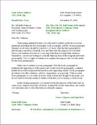 professional letter template letter format for writing a