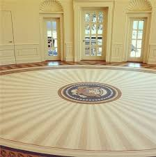 Trump Oval Office Rug President George W Bush U0027s Oval Office Rug With A Tasteful