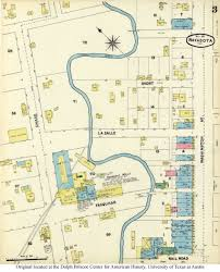 La Salle Campus Map Sanborn Maps Of Texas Perry Castañeda Map Collection Ut