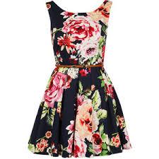 flower dress floral polyvore