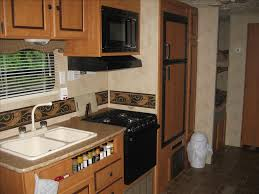 Kitchen Cabinets Kamloops Canyon Cat Vacation Rental Trailer Pamperedcamper Ca