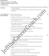 Hvac Technician Resume Samples by Hvac Resume Template Download Free U0026 Premium Templates Forms