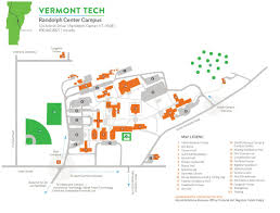 State Of Vermont Map by Locations Vermont Tech
