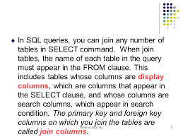 Joining Tables In Sql Itbis373 Database Development Ppt Video Online Download
