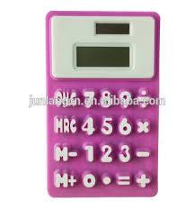 calculatrice bureau 8 chiffres en silicone en caoutchouc bureau calculatrice