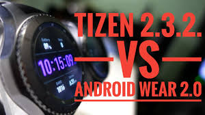 tizen vs android tizen vs android wear