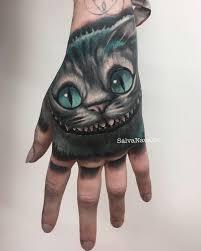 26 cheshire cat tattoos designs