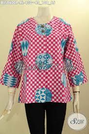 desain baju kekinian baju batik wanita dewasa desain kekinian blouse kemeja batik tanpa
