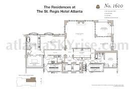 Regent Heights Floor Plan St Regis Residences Buckhead Now Selling Final 7 Luxury
