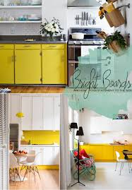 living the trend yellow kitchen and dining room accents dine x