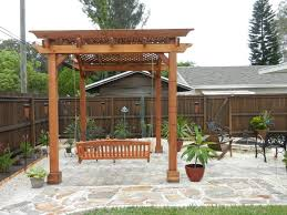 Pergola And Decking Designs by Exterior Wooden Pergolas On Backyard Decks Design Combine With