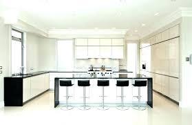 dimension ilot central cuisine dimension ilot cuisine cuisine contemporaine avec arlot dimension