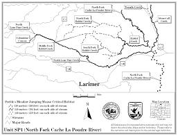 Platte River Map Preble U0027s Meadow Jumping Mouse Critical Habitat Page