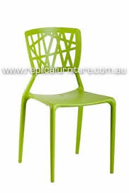 Plastic Stackable Patio Chairs Hammock Plastic Stackable Outdoor Modern Dining Chair Green By