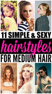 hairstyles for medium length hair 11 looks we love