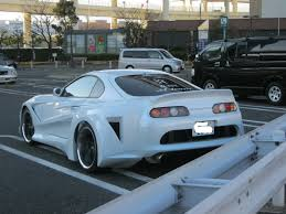 ricer car exhaust ruined a nice supra why man why