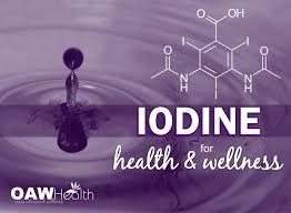 iodine for health and wellness oawhealth