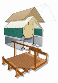 Cathy Schwabe by Tent Cabins Time To Build