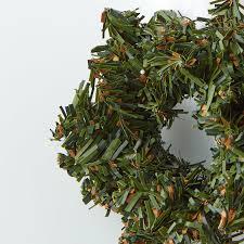 miniature artificial pine wreath wreaths floral supplies