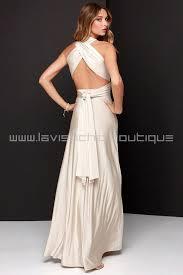 stunning convertible beige maxi dress convertible dress