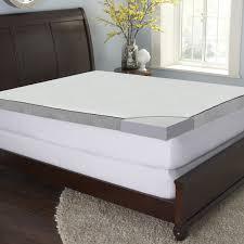 Gel Memory Foam Topper Bed U0026 Bedding Cool Gel Mattress Topper For Luxury Bedroom