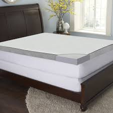 Queen Mattress Topper Bed U0026 Bedding Make Your Bedroom More Comfy With Gel Mattress