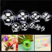 wholesale clear plastic ornament balls buy cheap clear plastic