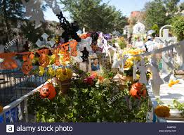 cemetery decorations grave gravesite decorations stock photos grave gravesite
