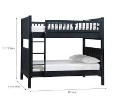 Camp FullOverFull Bunk Bed Pottery Barn Kids - High bunk beds