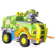 paw patrol versione inglese veicolo da giungla rocky