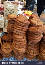 chocolate chip cookies for sale at a shop in amsterdam